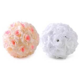 New Artificial Rose Kissing Flower Ball Wedding Party Bouquet Centerpiece Decor