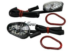 Motorcycle Clear Flush mount LED Turn Signal For Suzuki SV1000S 650S 2003-2007
