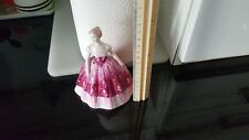 BEAUTIFUL RETIRED COALPORT FIGURINE ENTITLED KIMBERLEY ROSE PINK COLOUR DRESS