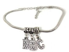 """Spades Swinger Jewelry Fetish Bbc Cuckold Crystal """"Bbc"""" Anklet Hotwife Queen of"""