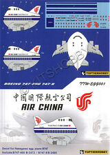 TOPTIERHOBBY decal EGGPLANE (Egg Plane) Boeing 747 - Air China