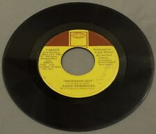 "1975 SOUL Eddie Kendricks - Shoeshine Boy / Hooked On Your Love 7"" 45"