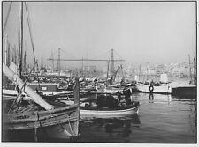 c1935 anonyme vieux port MARSEILLE tirage argentique vintage print BRIVE CORREZE