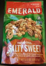 EMERALD SALTY SWEET glaze Peanuts,walnuts & Pecans + Almonds & CAshews Salted