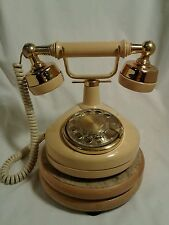 Vintage Western Electric Bell Rotary Telephone French Princess, Cream Color