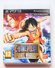 ONE PIECE PIRATE WARRIORS - PLAYSTATION 3 PS3 PLAY STATION - PAL ESPAÑA WARRIOR