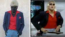 RIC FLAIR Halloween Cosplay Costume NWA Promo Vintage 1980s WWF Wrestling Meme L