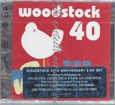 CD--VARIOUS--WOODSTOCK 40  | DOPPEL-CD