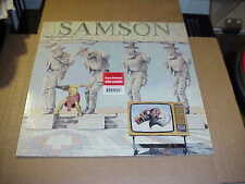 LP:  SAMSON - Shock Tactics  NWOBHM RED BLACK VINYL REISSUE Ltd