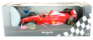Eddie Irvine Ferrari F310B 1996/97 Pauls Model Art 1/18th F1 Scale Model Car