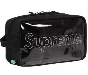 Supreme!!!Utility Bag!!!FW18!!!!!!Black!!!!!!BNWT!!!!!100% Authentic!!!!!!!!!!!!