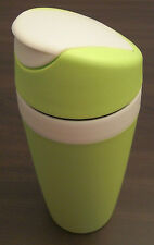 Tupperware Kaffee to Go 360 ml Kaffeebecher Themobecher Grün / Weiß Neu OVP