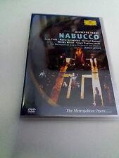 "JAMES LEVINE ""VERDI NABUCCO"" DVD COMO NUEVO JUAN PONS MARIA GULEGHINA RAMEY"