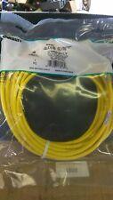 x10 - Panduit UTPSP20YLY Cat 6 UTP Patch Cord, 20ft, yellow, 1 Box of 10