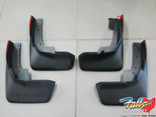 2019 Dodge Ram 1500 Front & Rear Black Molded Splash Guard Mud Flaps Mopar OEM
