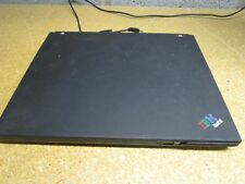 IBM Thinkpad X40 Laptop PC NO HDD Intel Pentium M No Battery Cracked Screen
