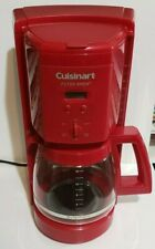Cuisinart Premier Coffee Series 12 Cup RED Coffee Maker DCC-1000R Red Series