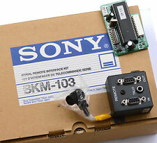 Serial Remote Interface Kit Sony bkm-103 1-653-773-12 control remoto set