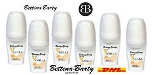 Bettina Barty Vanilla Roll-On Deodorant Vanila Deo 6x50 ml
