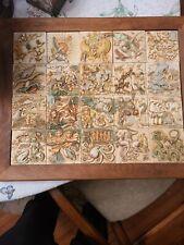 Complete Set 20 Tiles Harmony Kingdom Noah's Park Ark Magnetic Tile