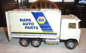 "Rare Vintage Nylint Napa Auto Parts Truck Pressed Steel 10 1/4"" Long 1970/80s"