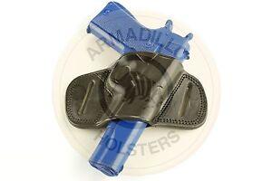 Left Hand Black Leather Mini Speed Belt Holster for 1911 Models  (G5BL-1911)