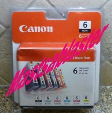 CANON BCI-6 GENUINE 6 Ink MULITI-PACK Case