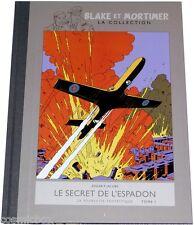 Tirage de luxe BLAKE et MORTIMER album dos toilé le SECRET de l'ESPADON tome 1