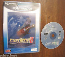 Gioco PC CD ROM silent hunter II 2 wwII u-boat combat simulator ubi soft 2001 EN