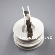 3 Rolls Dental Orthodontic Ligature Wire Round Spool Stainless Steel 020 Mm