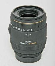 Sigma 70mm F2.8 Ex Dg Macro Nikon Af Lens New Exhibitors