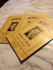 Songs by Arthur Flick Pianist Composer Chorus Satb Songbook 1950s lot of 3