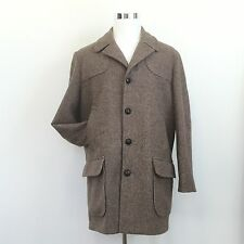 Vintage WESTMINSTER CLUB Mens Wool Coat Fully Lined Sears Roebuck & Co 42 REG