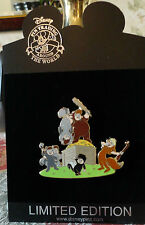 DISNEY PETER PAN 55TH ANNIVERSARY THE LOST BOYS LE 100 PIN NEW ON CARD