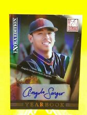 Angelo Songco 2011 Donruss Elite Extra AUTOGRAPH #20 Los Angeles Dodgers 114/221