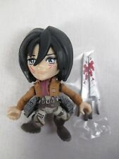 Attack on Titan Mikasa Ackerman Bloody Battle Damage Loyal Subjects Vinyls New