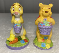 Winnie the Pooh and Rabbit Easter Salt and Pepper Shakers