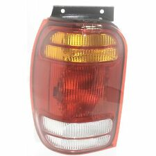 Tail Light For 98-2001 Ford Explorer XLT LH Amber, Clear & Red Lens