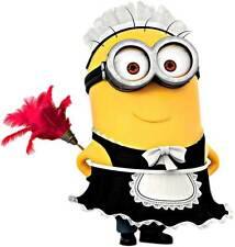 DESPICABLE ME MINION CLEANER  back window CAR, TRUCK WALL OR DOOR STICKER DECAL