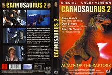 CARNOSAURUS 2 - ATTACK OF THE RAPTORS --- Special Uncut Version --- FSK 18 ---
