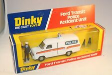 Dinky Toys 269 Ford Transit police car very near mint in box