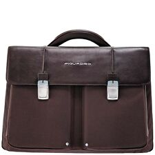 Piquadro Link Brown Organized briefcase with two gussets CA1044LK/TM