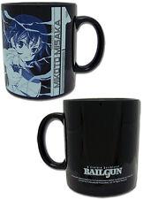 To Aru Kagaku no Railgun Misaka Blue and Black Coffee Mug Cup