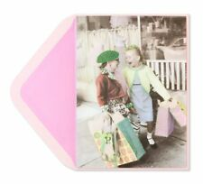 Papyrus Two Girls Shopping Birthday Card (Gorgeous) Friendship
