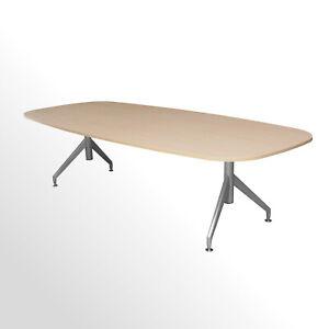 Günstiger Besprechungs- und Konferenztisch - Akazie Dekor - 2750x1200 mm