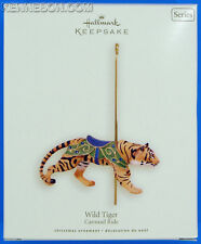 Wild Tiger Carousel Ride Series #5 Hallmark Keepsake Christmas Ornament 2008