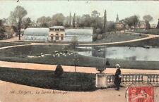 ANGERS 266 le jardin botanique timbrée 1907