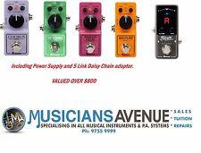 IBANEZ Mini  - TS, FZ, AD, CS & BIG mini - PSU & Daisy Chain - Save over $200