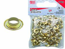 BGS 570-1 100 Stück 4,5mm Ösen Ersatzösen für Ösenzange 570