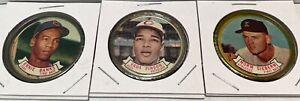 Ernie Banks - Vada Pinson - Norm Siebern - 1964 Baseball Coins  - # 42-45-49